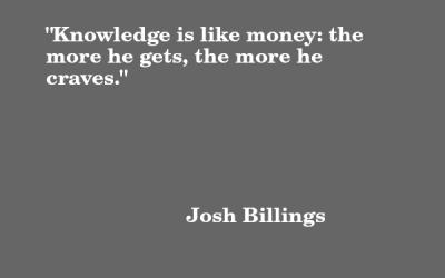 Quote: Josh Billings