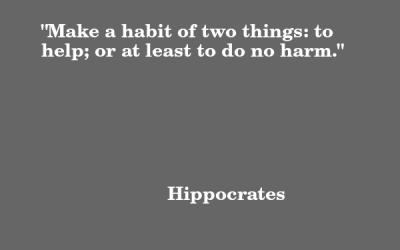 Quote: Hippocrates