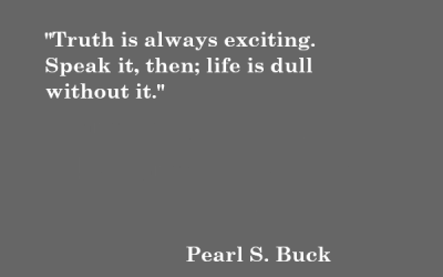 Quote: Pearl S. Buck