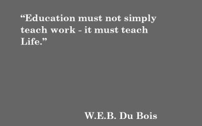Quote: W.E.B. Du Bois