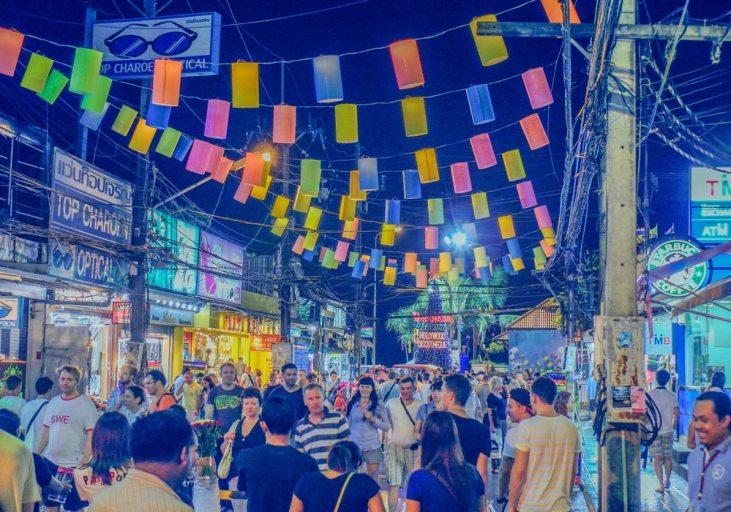 Bangla Road Nightlife, Patong Bay