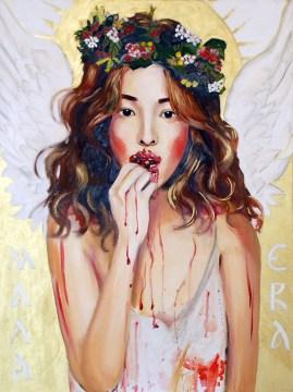 Little Eva-oil on canvas(60x80cm)