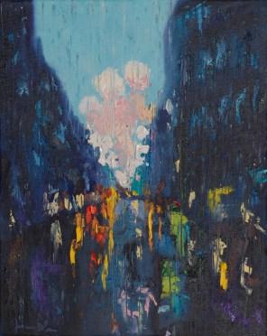 Joanna Blair - Rainy reflections