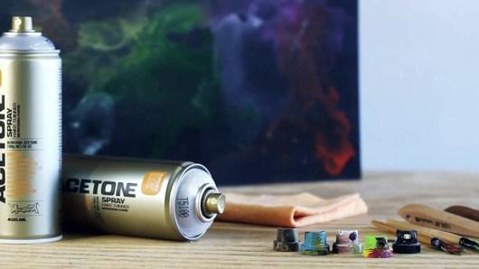 Montana Cans Acetone | Global Art Supplies