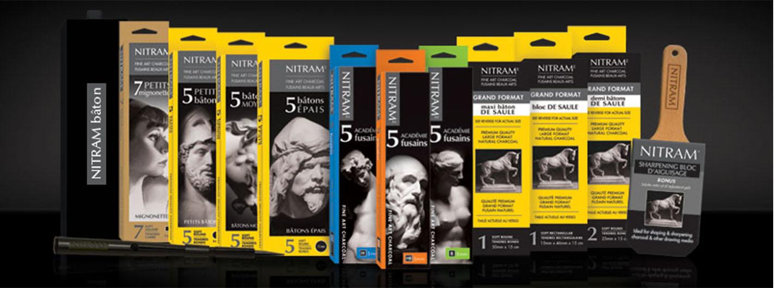 Nitram | Global Art Supplies | Charcoal | Art Materials