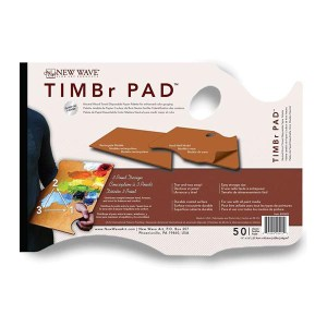 TIMBr Pad Brown Tear Off