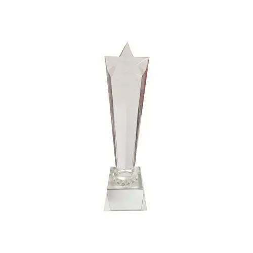 Crystal Trophy Supplies in Singapore Custom Print