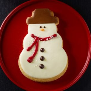 Frosted Snowman Cookie Starbucks Coffee Company