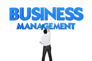 Business word for business and finance concept, Business management