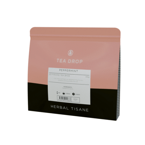 peppermint teadrop teabags herbal tea australia