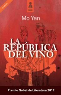 La república del vino, de Mo Yan