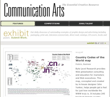communication arts magazine
