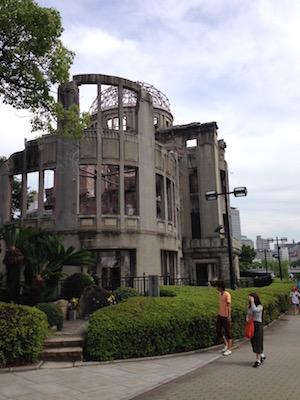 【元旅行添乗員ふきこのブログ】Atomic bomb Memorial day