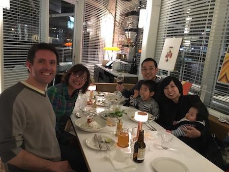 【オーナー酒井の日常ブログ】Eat out at bills with Cameron and Yuhsi!