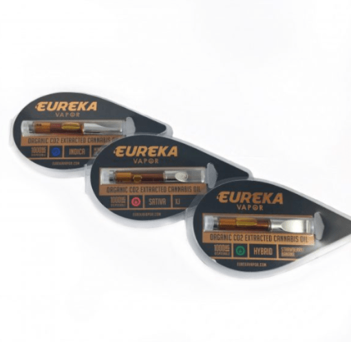 Eureka Vapor Amber Cartridges for sale