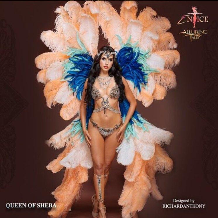 Queen of Sheba Entice Carnival 2017