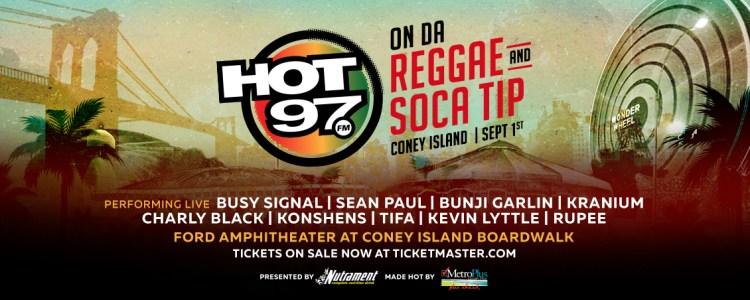 Hot97 On Da Reggae And Soca Tip