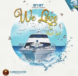 We Love D'Boat NYE Barbados