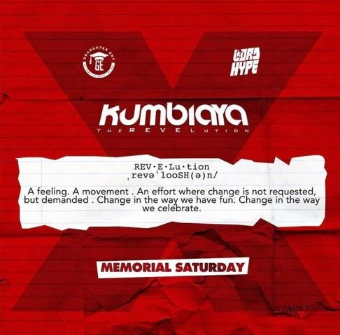 Kumbiaya Memorial Weekend NYC 2018