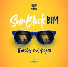 Sunblock BIM - Crop Over 2018