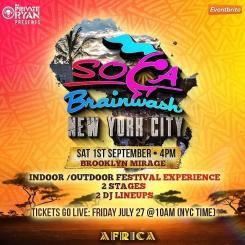 Soca Brainwash NYC 2018