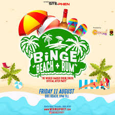 Binge Beach and Rum Grenada