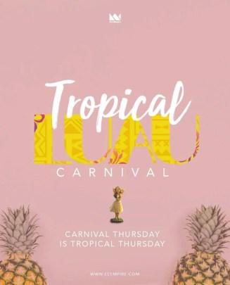 Tropical Luau - Trinidad Carnival 2019