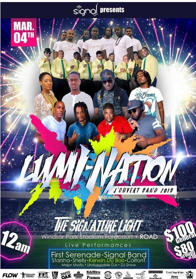 Lumi Nation Dominica Carnival 2019