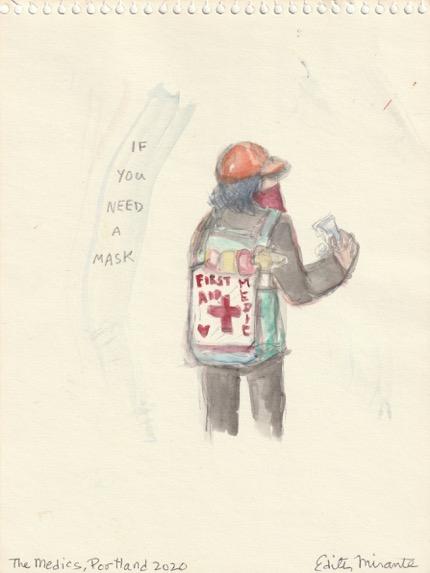 The Medics, Portland 2020 by Edith Mirante