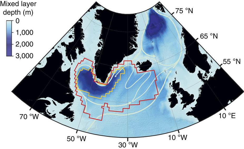 Un risque de refroidissement rapide dans l'Atlantique Nord