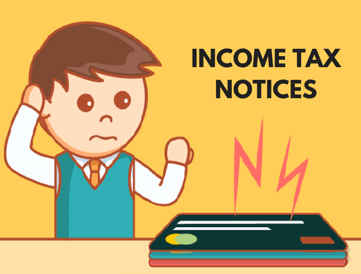 7 Common Reasons For Why You Get Income Tax Notices