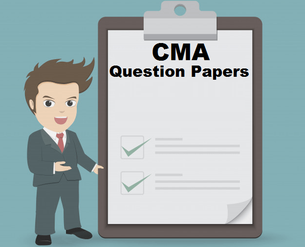 CMA Question Papers 12th Dec'19