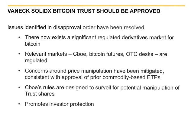 Bitcoin ETF SEC