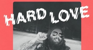 The cover of Hard Love.