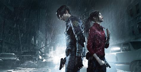 a screenshot from the resident evil 2 remake
