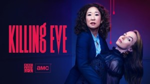 a promotional image for killing eve