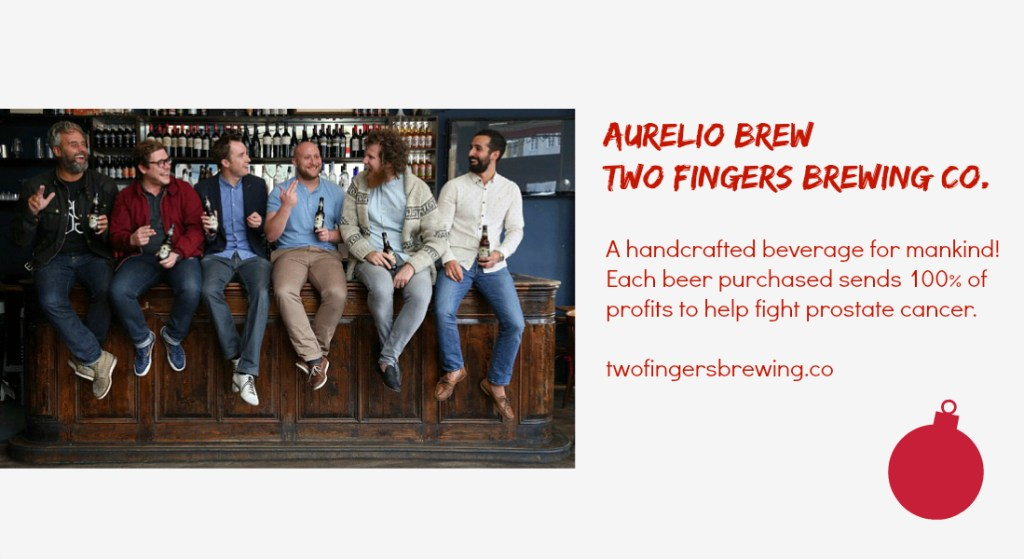 Two Fingers Brewing - social enterprise holiday gifts