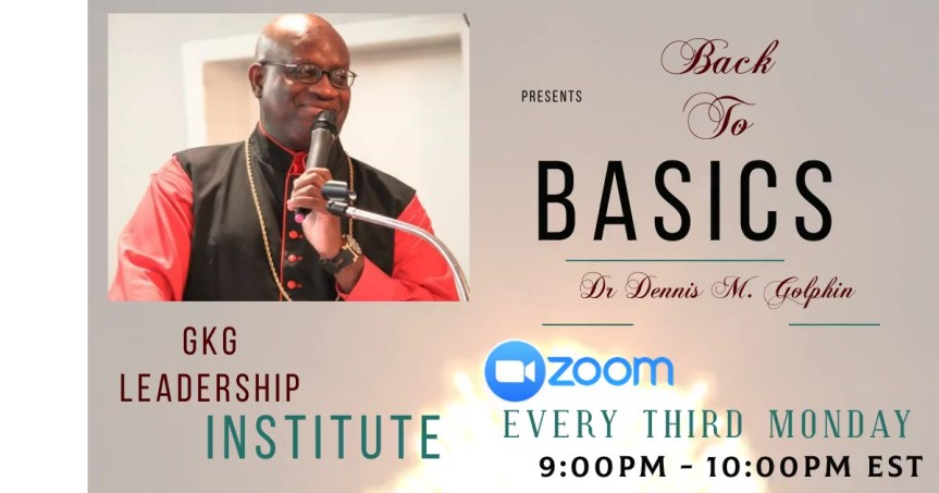 Monthly Bible Training with Dr. Dennis M. Golphin