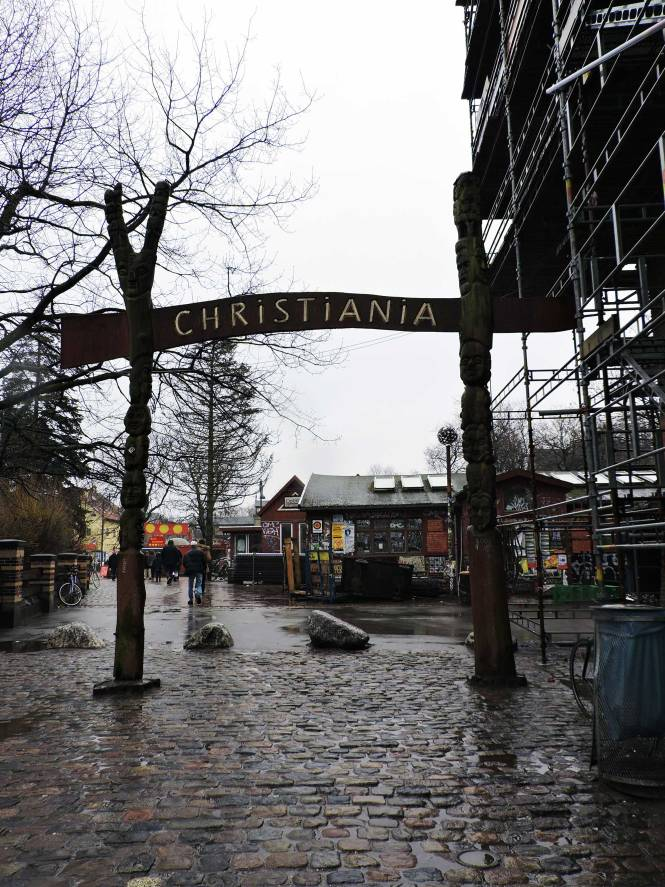Freetown Christiania archway