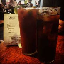 Drinks Around the World en route to San Juan, Puerto Rico.
