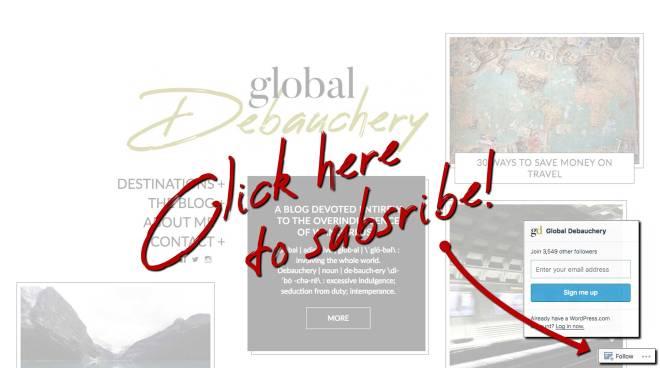 Global Debauchery homepage