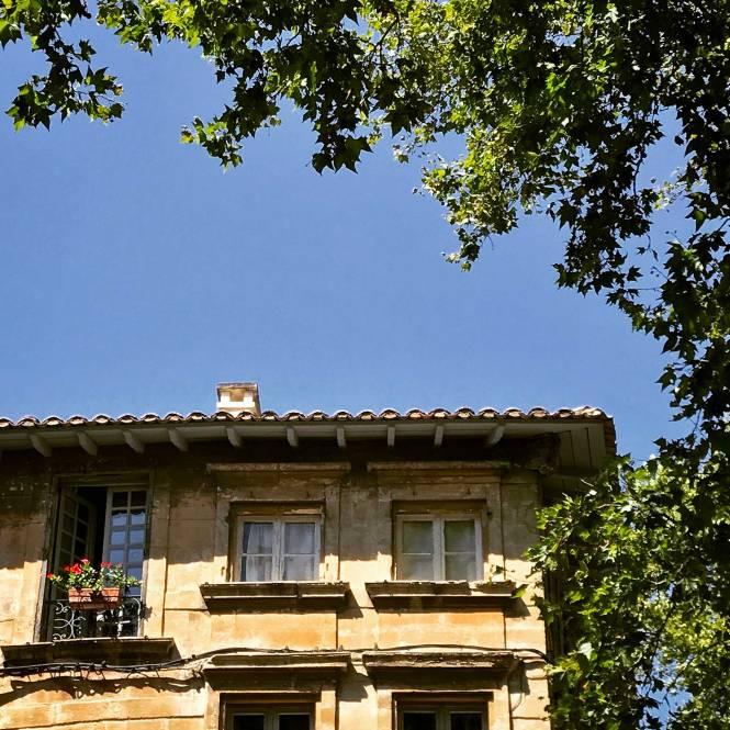 Pretty balcony in Avignon, France