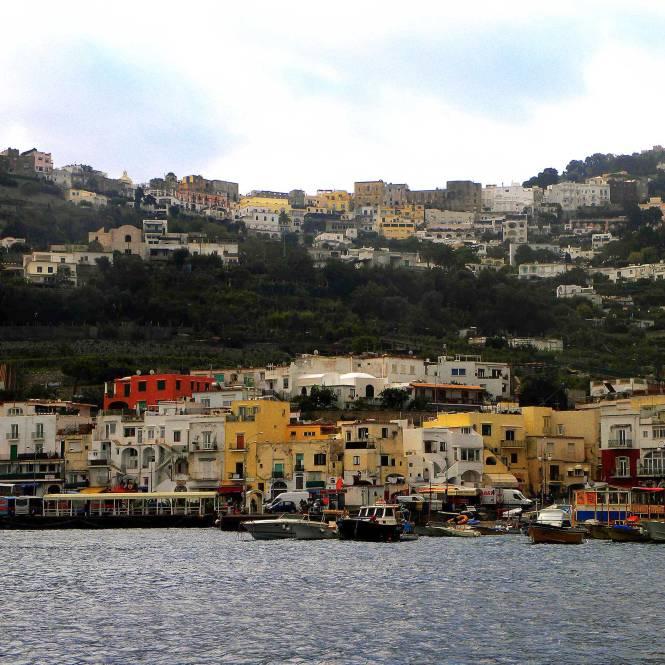 Capri, Italy coastline