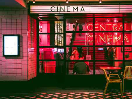 A cinema shot hero for best travel movies of all time