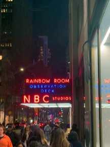 NBC Studios in NYC