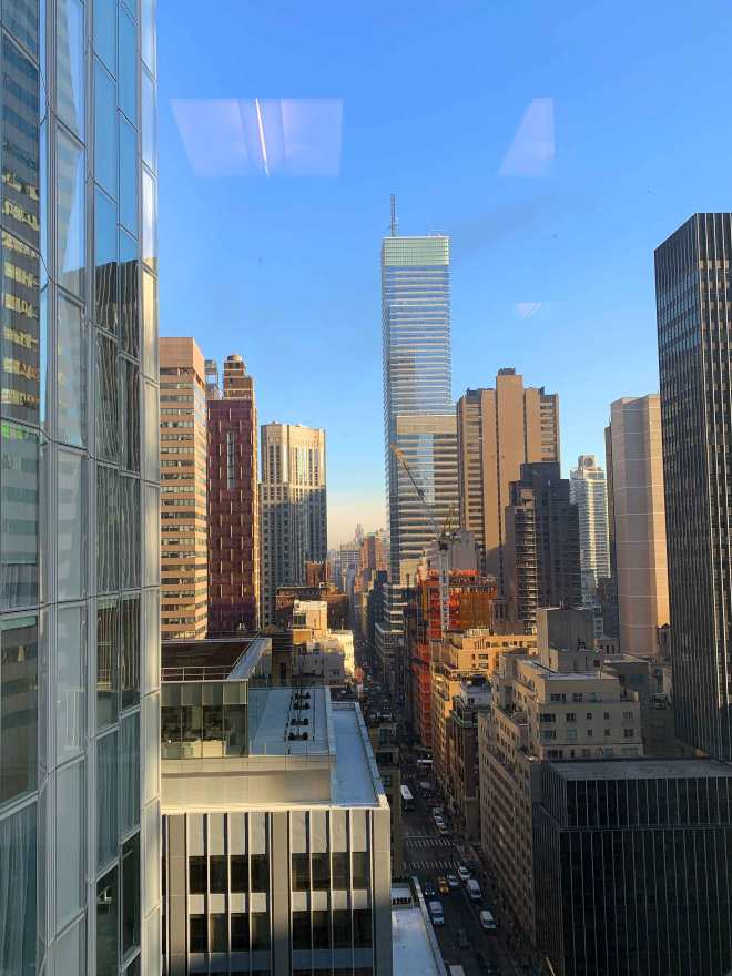 NYC view from the office