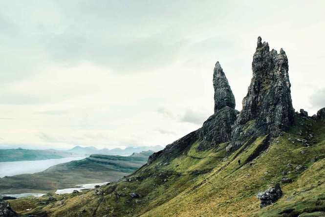 the storr on isle of skye in scotland
