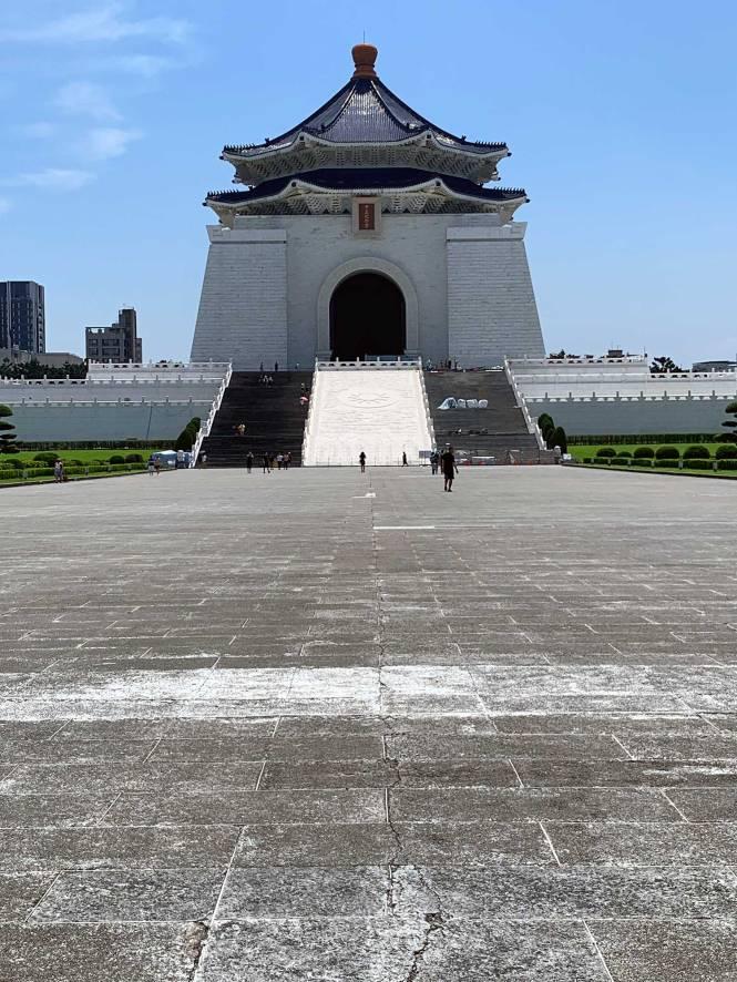 Chiang Kai Shek Memorial in Taipei, Taiwan