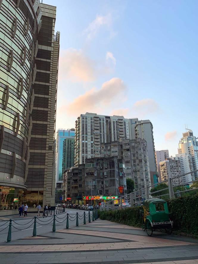 Macau city streets
