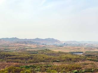 View of North Korea